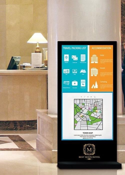 Digital Signage: как правильно использовать в отельном бизнесе?